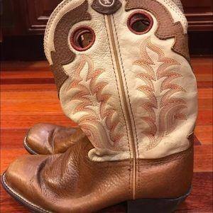 Tony Lama Kids Western Boots Size 3.5